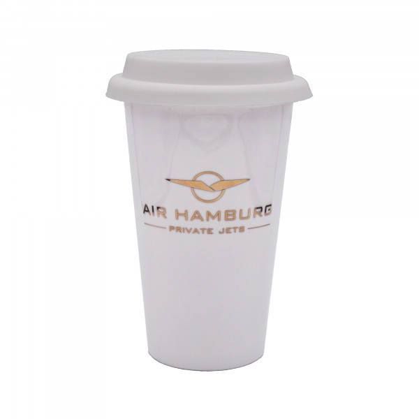 AIR HAMBURG Thermobecher Gold
