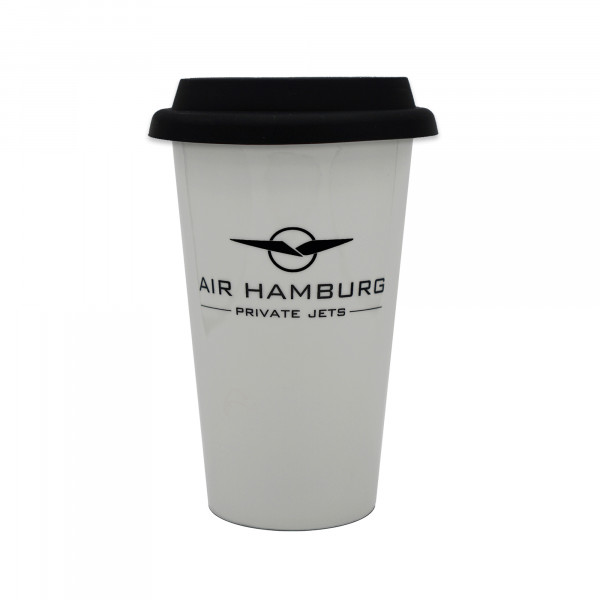 AIR HAMBURG Thermobecher Schwarz